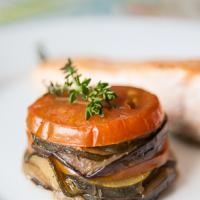 Tian Provençal (tomates, aubergines et courgettes)